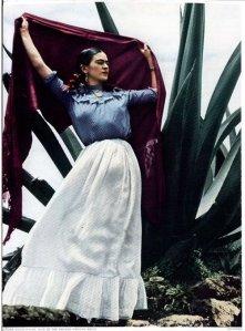 Frida Kahlo long skirt
