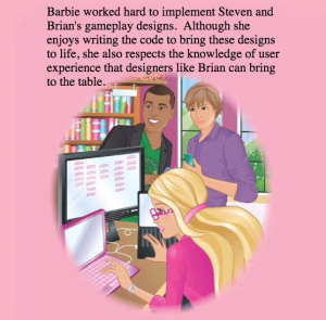 Barbie Feminist Hacker