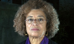 Angela Davis photo Richard Saker for the Guardian