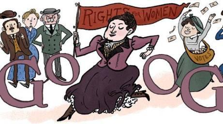 Henrietta Edwards Google cartoon Kate Beaton