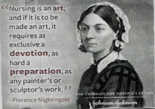 Florence Nightingale art quote psh