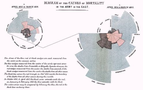 FLorence Nightingale mortality infographic