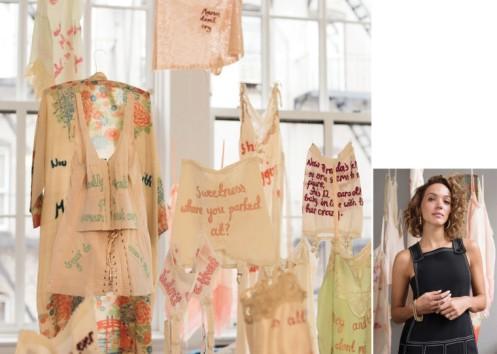 Zoe Buckman Lingerie Feminism Every Curve installation 2016 LA