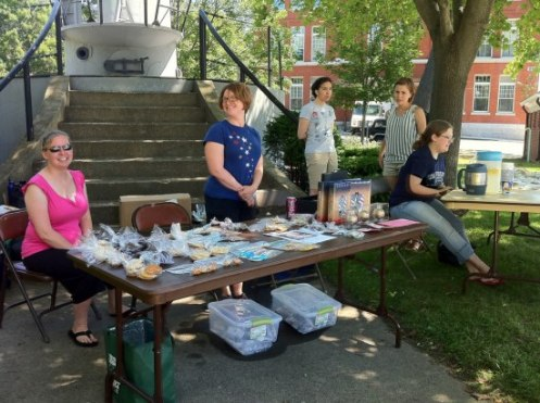 Bake Sale USS Virginia Family Readiness