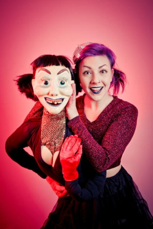 Jessica Rae Messy Bitch Montreal Fringe puppets
