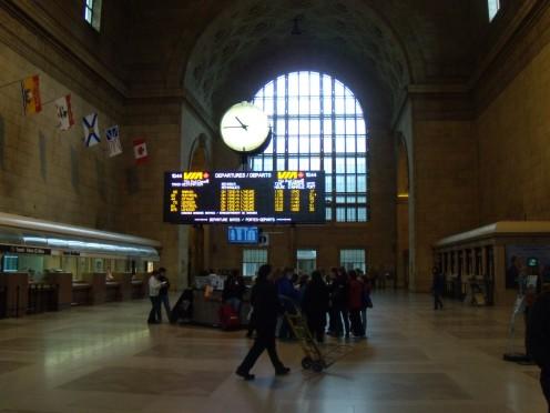 Union Station Toronto April 4 09