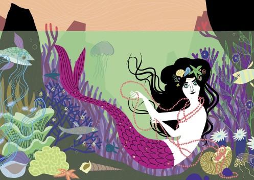 Annette Kellerman Mermaid for Brazen by Penelope